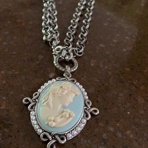 Weekend sale Cameo by Patricia Nash necklace